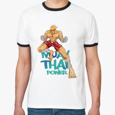 Футболка Ringer-T Muay Thai Power