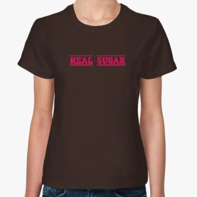 Женская футболка Real Sugar