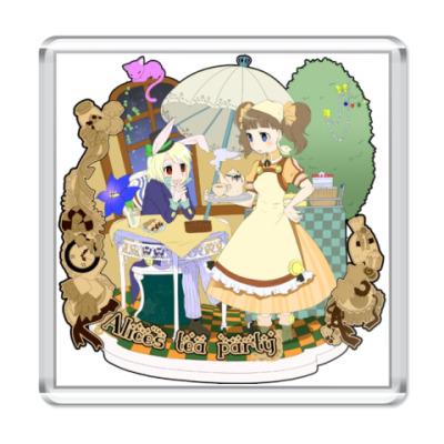 Магнит Alice's tea party