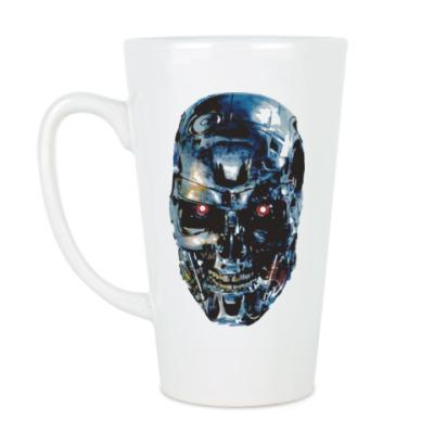 Чашка Латте Терминатор Т-800
