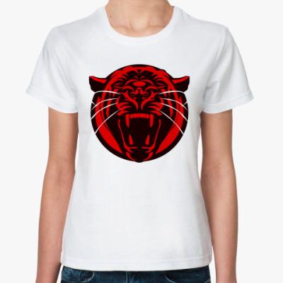 Классическая футболка  пантера