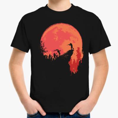 Детская футболка Кровавая луна