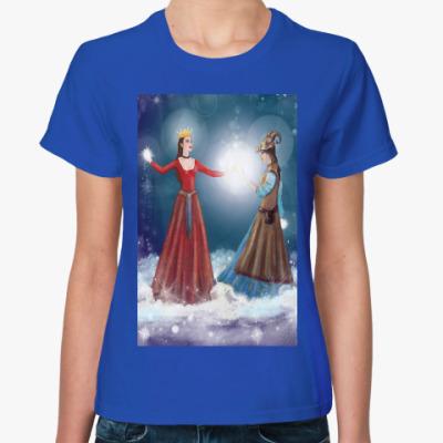 Женская футболка Космогония