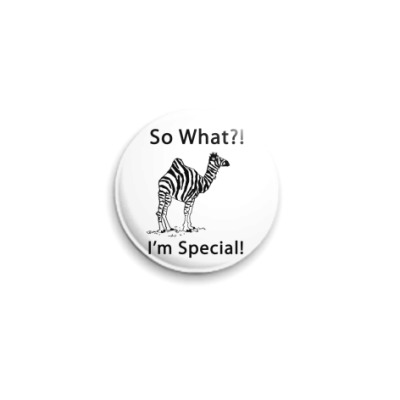 Значок 25мм Special