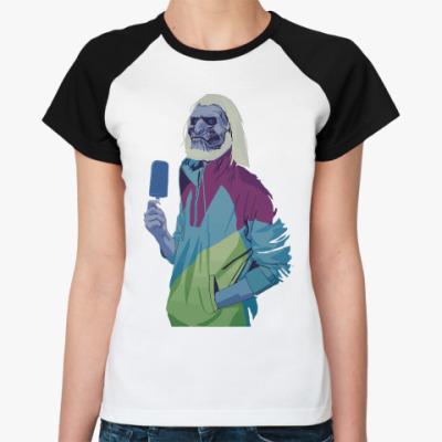 Женская футболка реглан White Walker Ice Cream