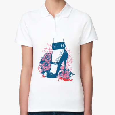 Женская рубашка поло Queen of Hearts