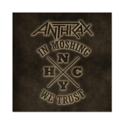 Наклейка (стикер) Anthrax