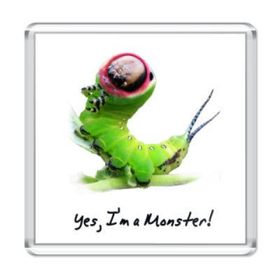 Магнит Yes, I'm a Monster!