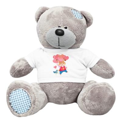 Плюшевый мишка Тедди Кролик с Любовью