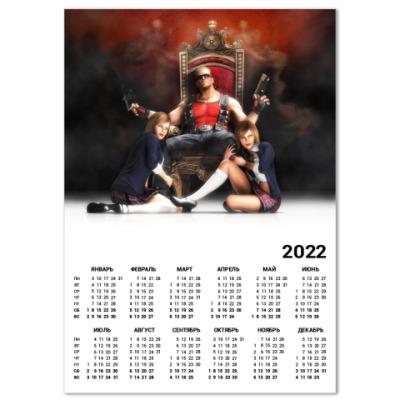 Календарь  Duke Nukem