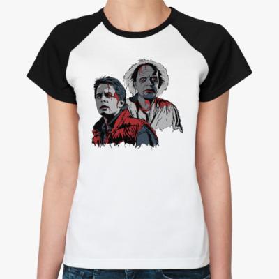 Женская футболка реглан Back to the dead