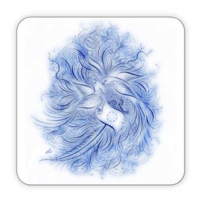 Костер (подставка под кружку) Подставка Синяя Птица
