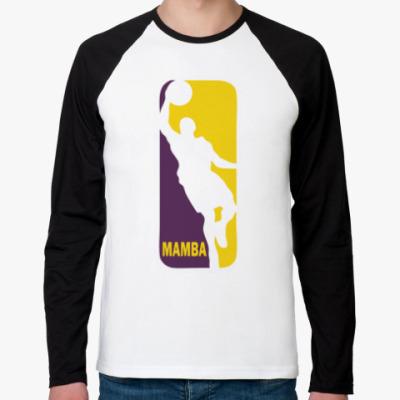Футболка реглан с длинным рукавом Black Mamba