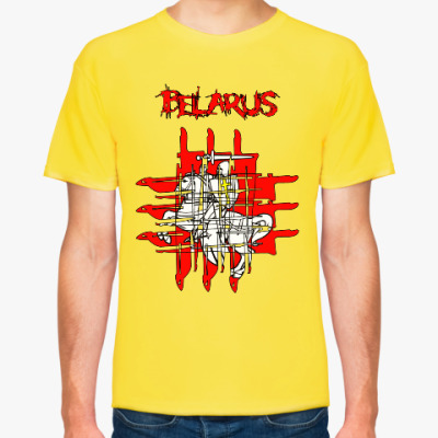 Футболка Belarus HorrorGeo PD