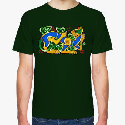 Футболка Кельтский кот