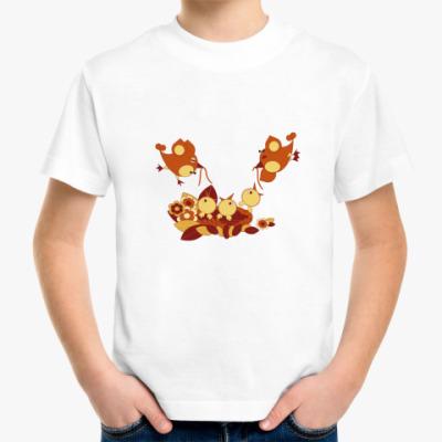 Детская футболка Птенцы