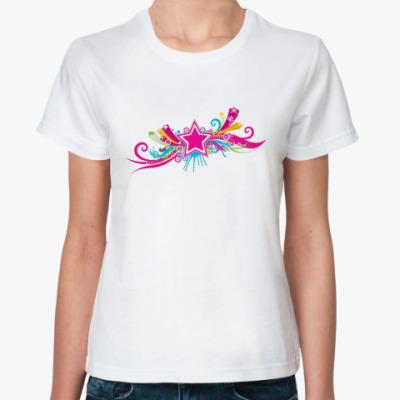 Классическая футболка  футболка Star