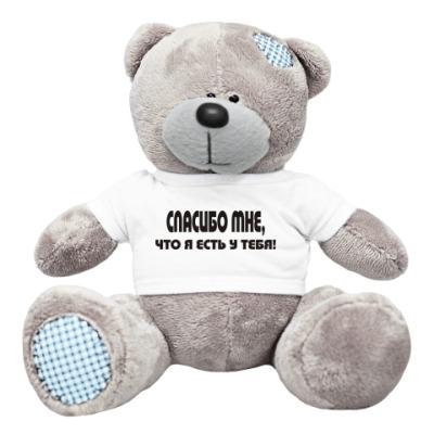 Плюшевый мишка Тедди Спасибо мне, что я есть у тебя