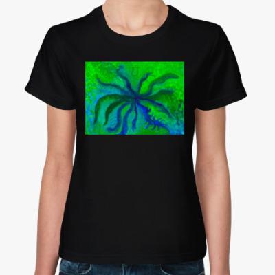 Женская футболка Анахата чакра - Чакра любви
