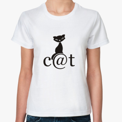 Классическая футболка 'Сat'