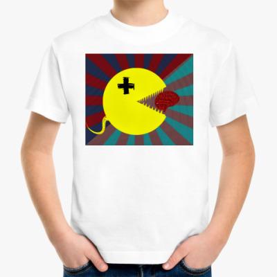 Детская футболка береги мозг