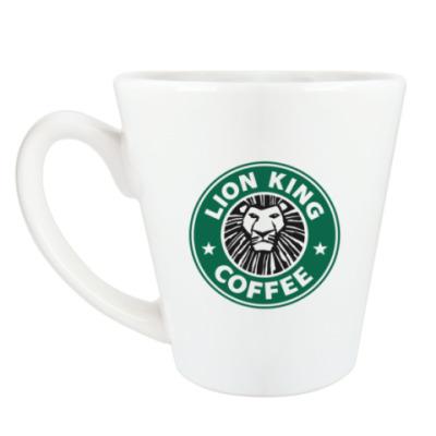 Чашка Латте Lion king coffee