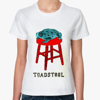Классическая футболка  лягушка