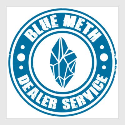 Постер Blue Meth Dealer