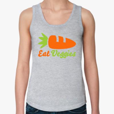 Женская майка Eat Veggies