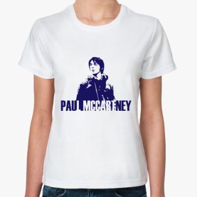 Классическая футболка Paul Mccartney