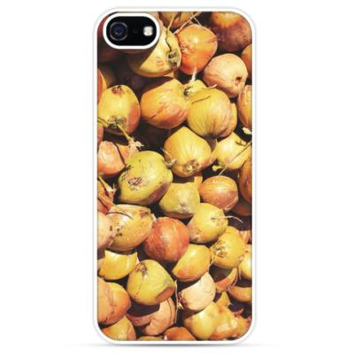 Чехол для iPhone Кокосы / Coconuts