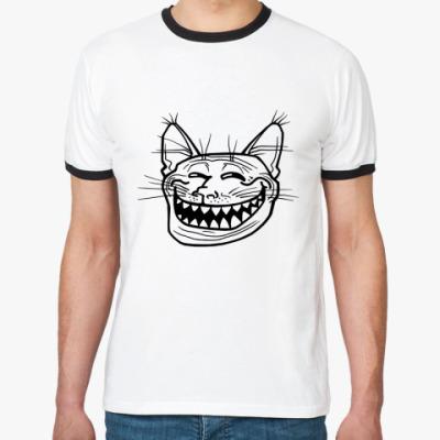 Футболка Ringer-T Trollface