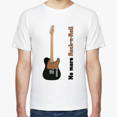 Футболка No More Rock-n-Roll