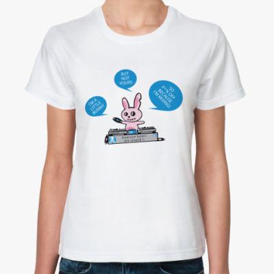 Классическая футболка  Bunny DJ