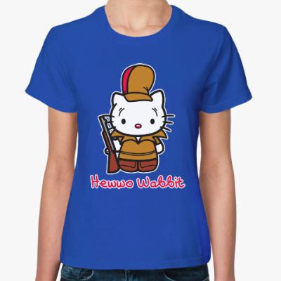 Женская футболка Hawwo Wabbit