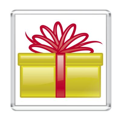 Магнит подарк