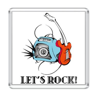 Магнит Let's Rock!