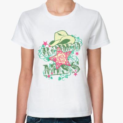 Классическая футболка RODEO MISS