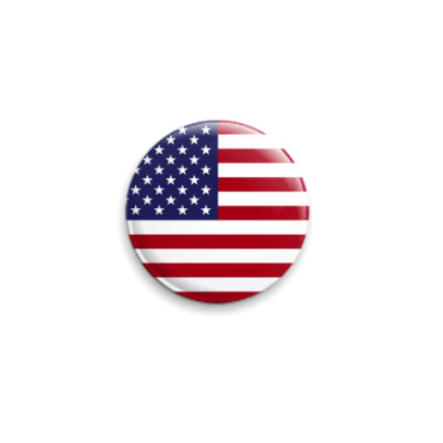 Значок 25мм США, USA, Америка