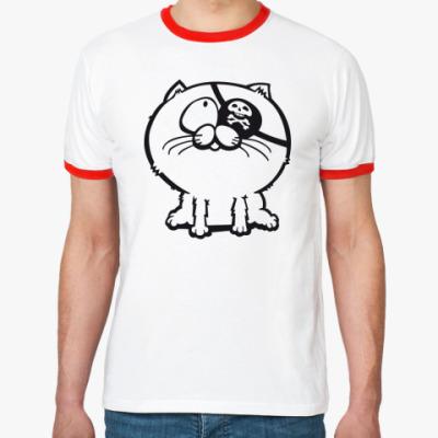Футболка Ringer-T котёнок