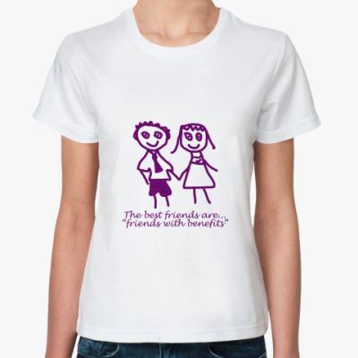 Классическая футболка Best Friends