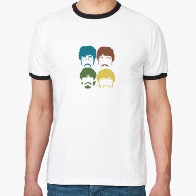 Футболка Ringer-T Для фанатов Beatles