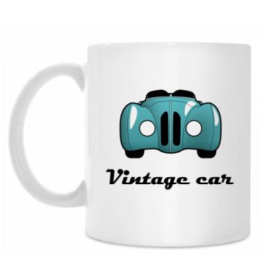 Кружка Vintage car