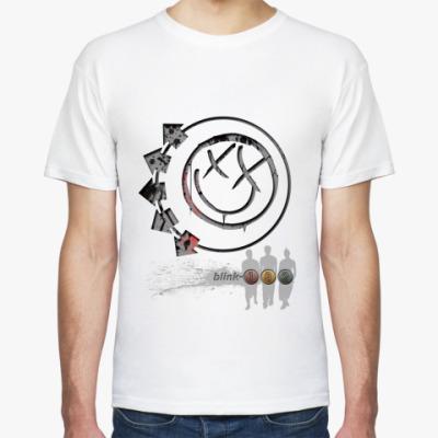 Футболка Smiley Blink 182