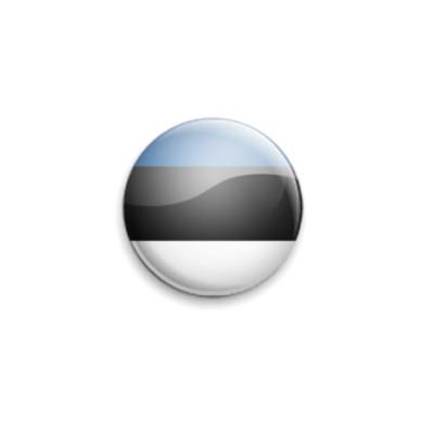 Значок 25мм Estonia
