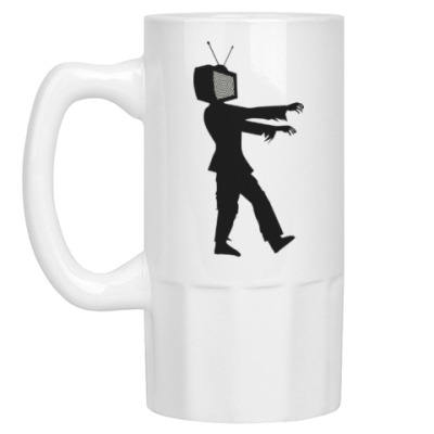 Пивная кружка Зомби ТВ