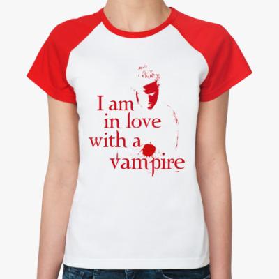Женская футболка реглан Love Vampire