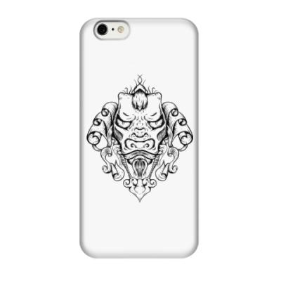 Чехол для iPhone 6/6s Восточный тату дракон