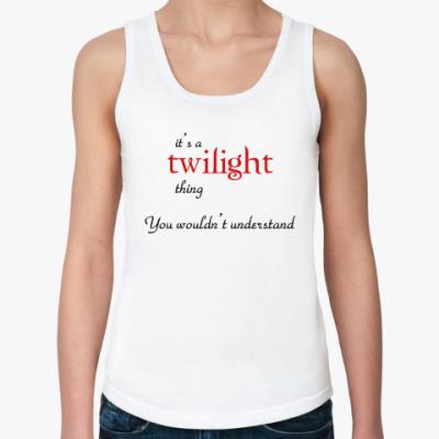 Женская майка Twilight-thing