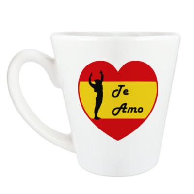 Чашка Латте Я люблю тебя по-испански